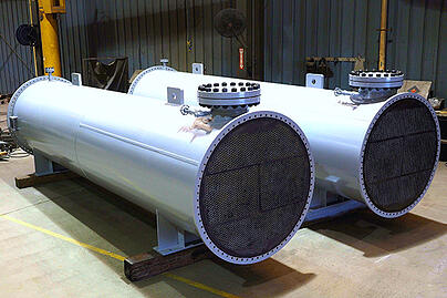 1 - Ammonia Column Condenser Replacements - engineering fabrication