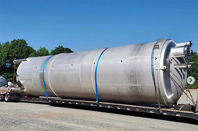 Stainless Steel Storage Tank with U-Bundle_