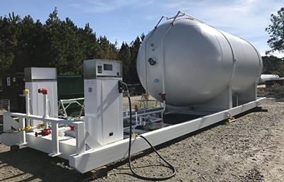 Transportation - Propane Autogas Fueling Infrastructure - engineering fabrication installation - button