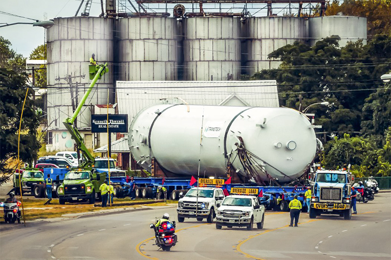 1 - Large Diameter ASME Pressure Vessel Fabrication