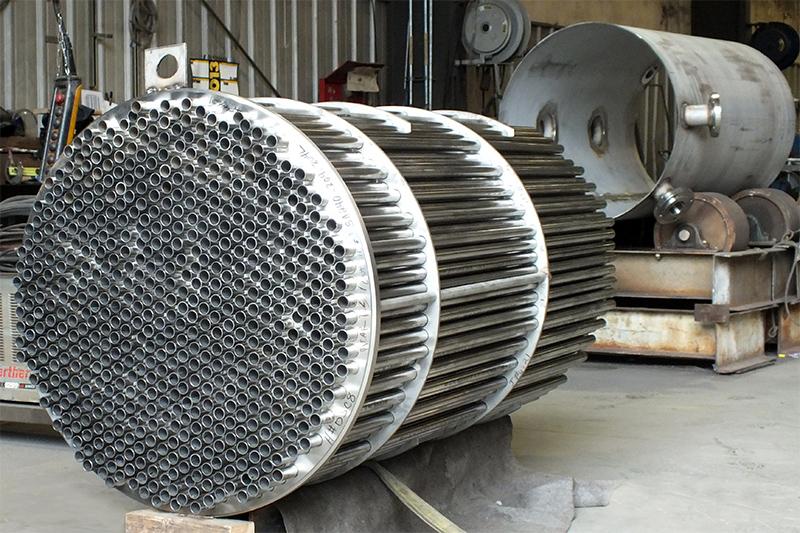 14 - Fixed Tubesheet Heat Exchanger Fabrication - Custom Design & Engineering Services