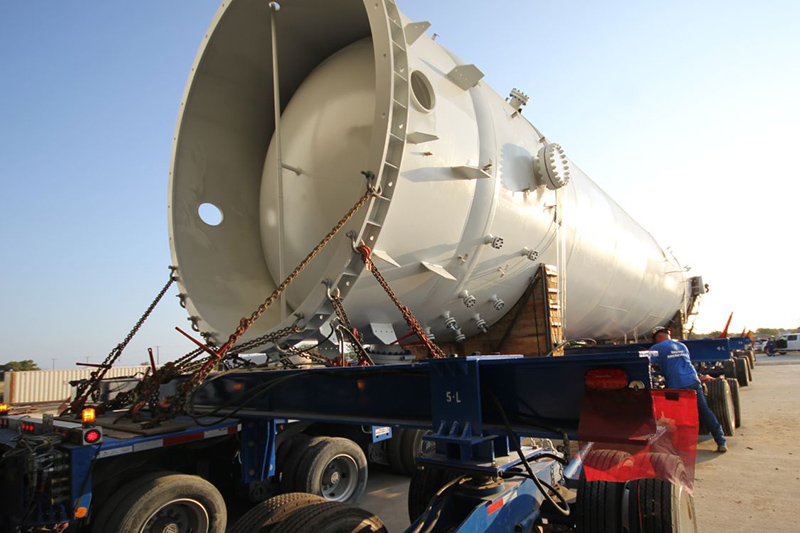 3 - Large Capacity ASME Pressure Vessel Fabrication