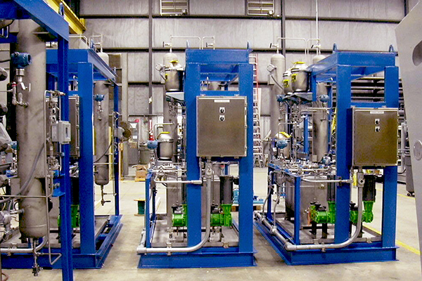 6 - Biodiesel Plant - Seal Pots - Engineering Fabrication Installation Services