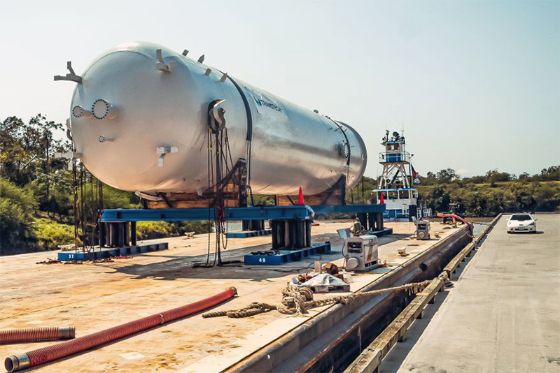 6 - Large Capacity ASME Pressure Vessel Fabrication Services in Texas