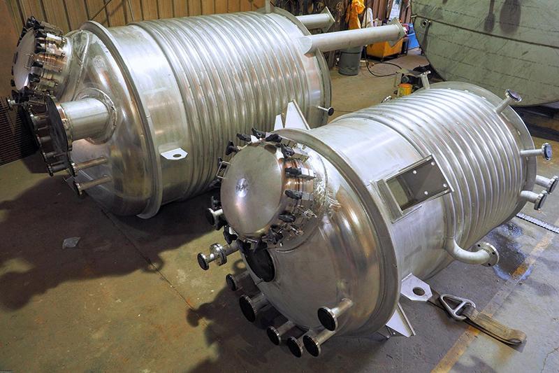7 - Reactors Custom Engineering Fabrication