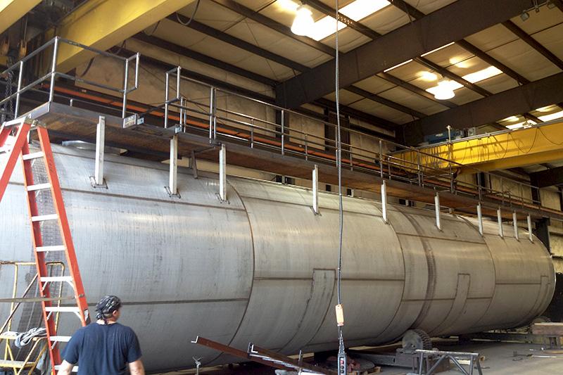 8 - API Storage Tank Fabrication & Installation