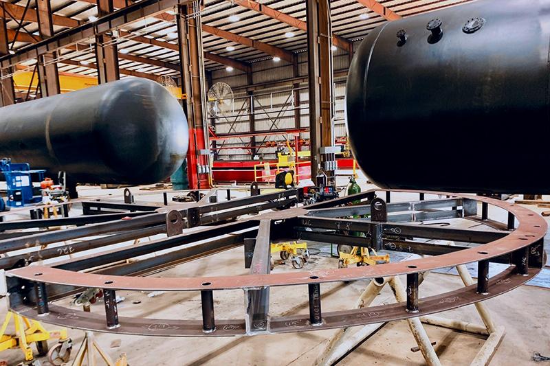8 - Large Diameter & Heavy Wall Vessels - Custom Fabrication