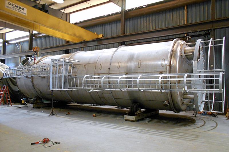 8 API Storage Tank Dump Vessel Engineering Fabrication EPC