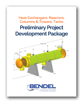 Heat Exchangers, Reactors, Columns & Towers, API Storage Tanks, Pressure Vessels - Preliminary Project Development Project